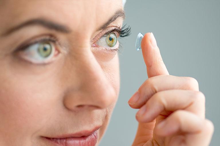 Departamento de lentes de contato